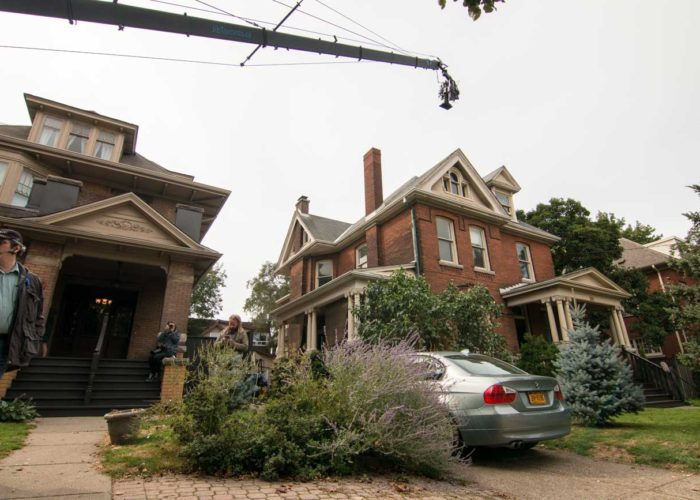 Big Fall Productions on Set With Jimmy Jib Triangle for The Wanting Movie in Hamilton