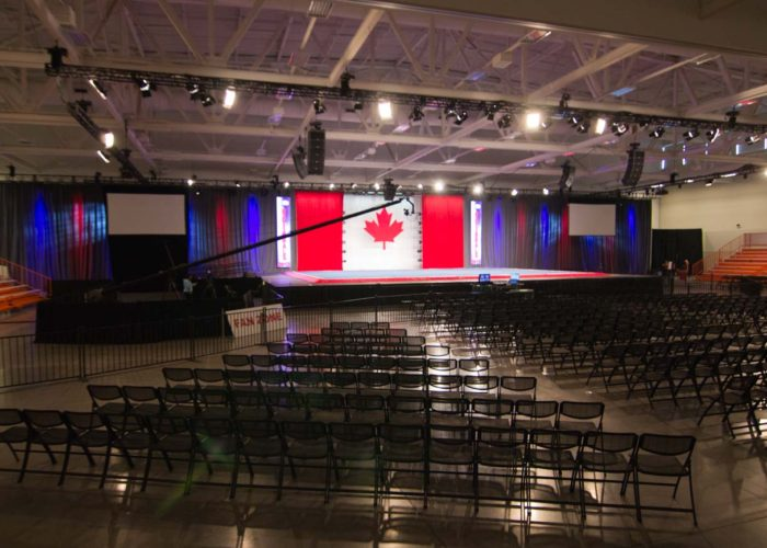 Jib in Niagara Falls Ontario for National Dance Competition