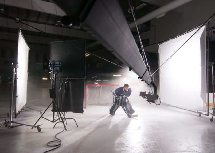 Jib Operator for Toronto Marlies Media Day