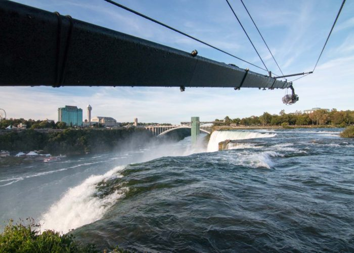 Brendan Schnurr Operating the Jib Over Niagara Falls Ontario