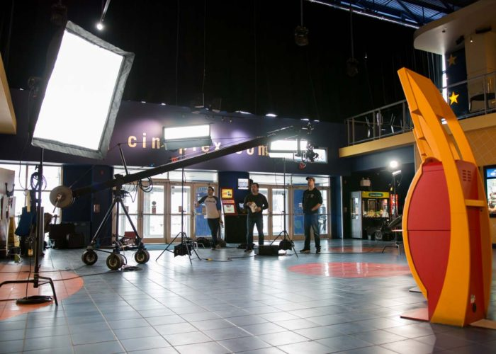 Jib Operator in Toronto for Cineplex Pre-Shows