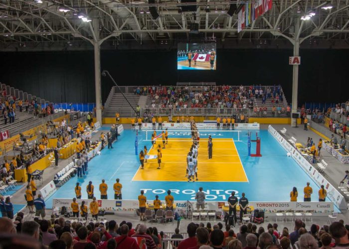 Jib Operator at Pan Am Games Volleyball in Toronto