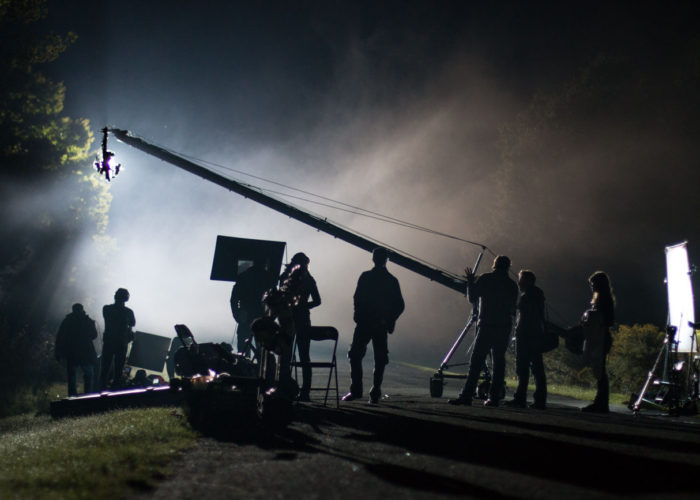Jib Operator on Surviving Evil TV Show in Toronto
